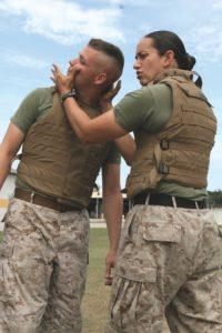 military combat training