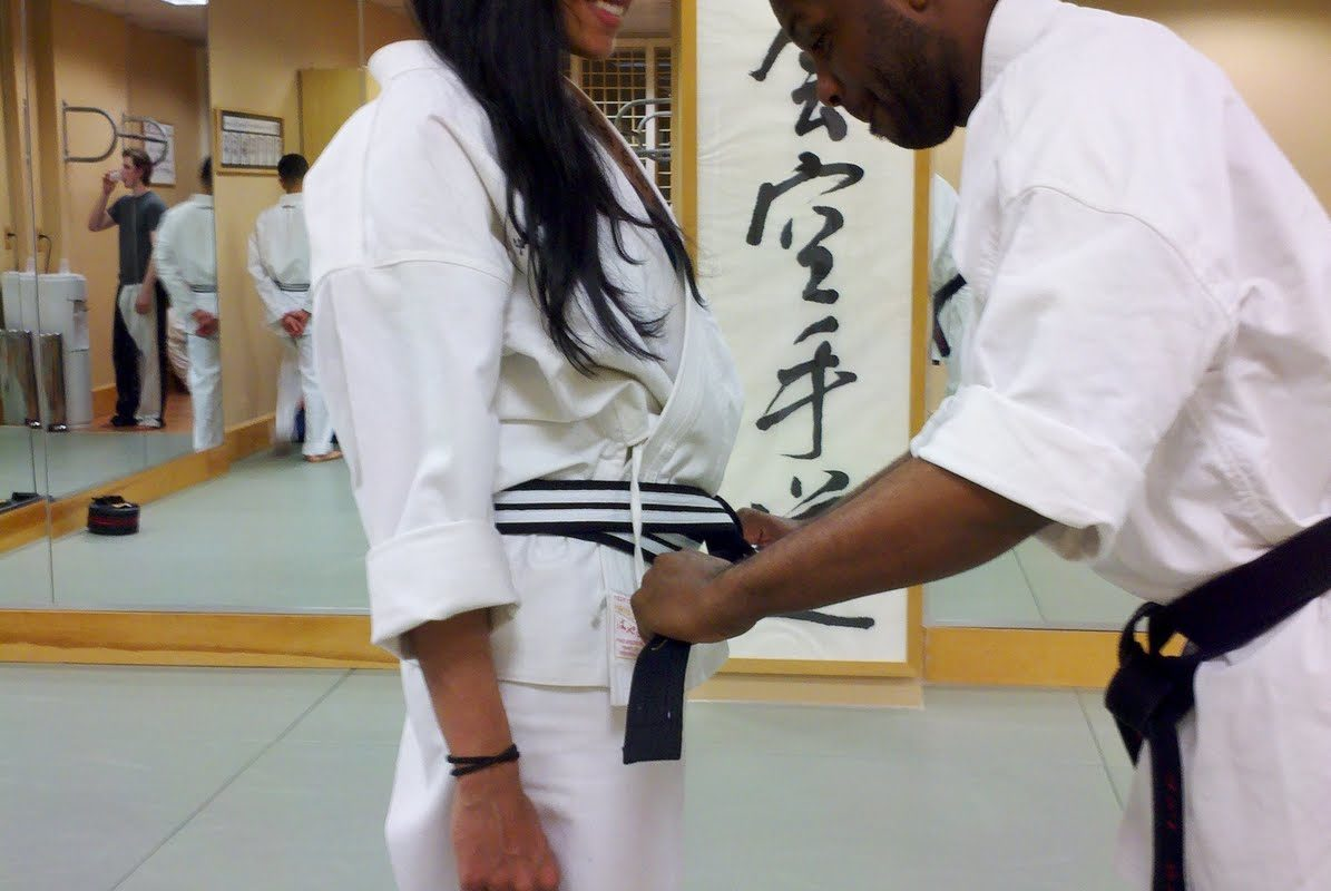 martial arts belt ceremony
